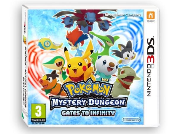 Pokemon Mystery Dungeon: Gates to Infinity Box Art
